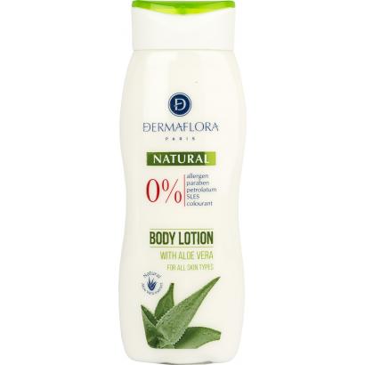 Dermaflora 0% Aloe Vera Body Lotion 250 ml