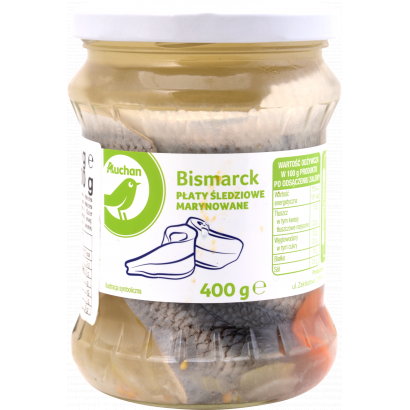 Herring  fillets with onion in oil 400 g / 200 g