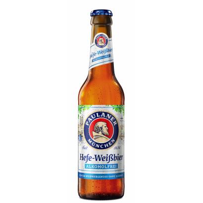 Paulaner wheat beer, alkohol free