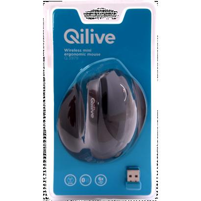 Qilive 130406 ergonómiai vezeték nélküli egér