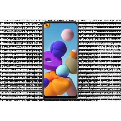 Samsung Galaxy A21s Dual Sim fekete mobiltelefon