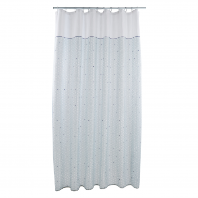 ACT/ SHOWER CURTAIN, PRINTED, POLYESTER 75GSM, 180X200CM, FARAH DESIGN