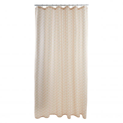 ACT/ SHOWER CURTAIN, PRINTED, POLYESTER 100GSM, 180X200CM, MILA DESIGN, GOLD