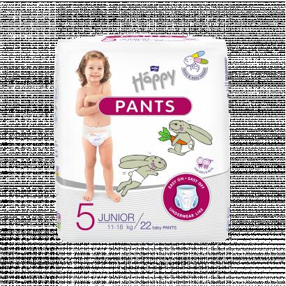 Bella Baby Happy Pants bugyipelenka Junior 22 db