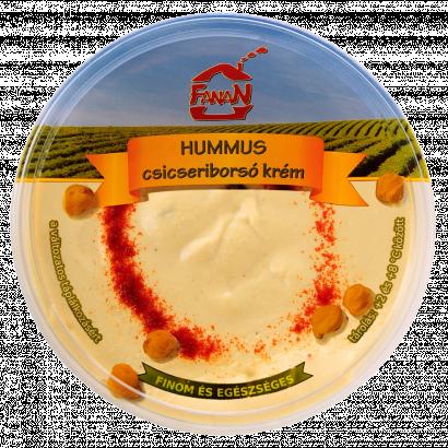 Fanan hummus natúr csicseriborsó krém 250 g