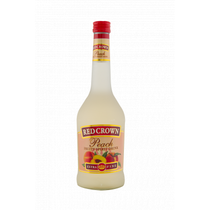 RED CROWN Őszibarack Vodka-likőr 0,5 l