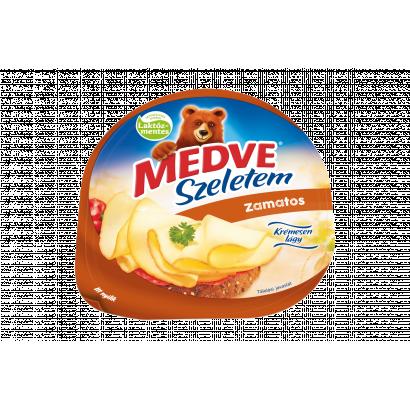 Medve Szeletem Zamatos natúr, zsírdús, félkemény sajt 130 g