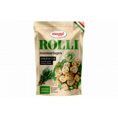 Mogyi Rolli rozmaringos, pirított, sokmagvas kenyérkarika 90 g