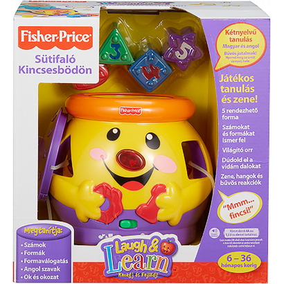 Fisher-Price Sütifaló Kincsesbödön