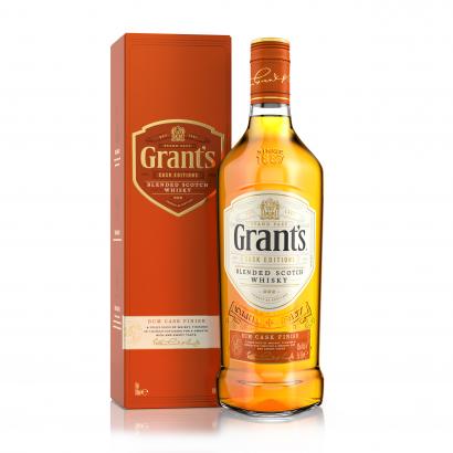 Grants Rum Cask 0,7 L 12/k 40%