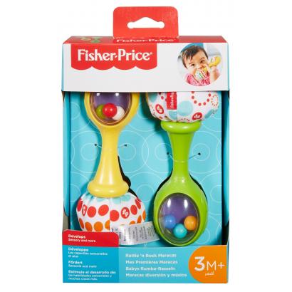 Fisher Price csörgő, rumbatök