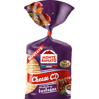 Cheese CD with barbeque flavour 110g
