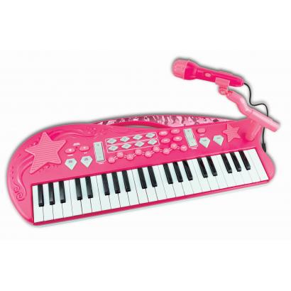 One Two Fun MP3 szintetizátor, rózsaszín