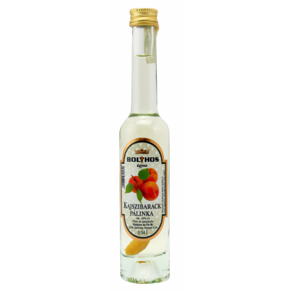 APRICOT BRANDY AGED ON FRUIT- BED 0,04 L