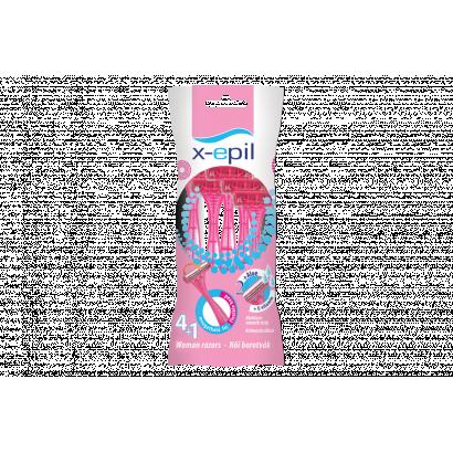 X-EPIL Eldobható női borotva 2 pengés 5db/csom