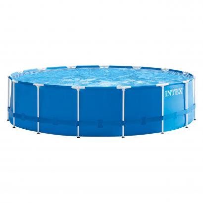 Intex Fémvázas medence szett vízforgatóval 457x122 cm (28242)