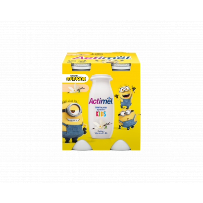 Danone Actimel vaníliaízű joghurtital 4 x 100 g (400 g)