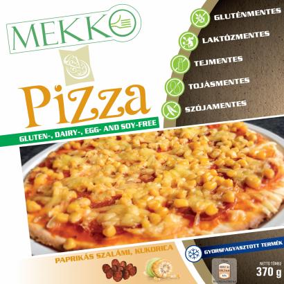 Mekko Pizza paprikás szalámi, kukorica 370 g