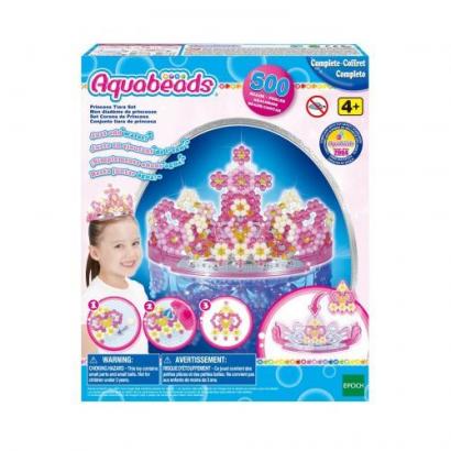 Aqua Beads Princess Tiara szett