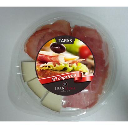 Juan Luna Serrano-Pork Cures Lion-Cheese tapas 100 g