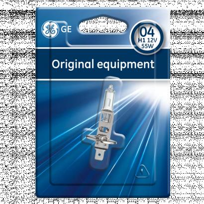 GE H1 Standard Halogén fényszóró 12V 55W