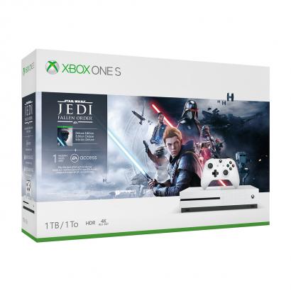 Microsoft Xbox One S 1TB Star Wars Jedi Fallen Order Deluxe Edition Játékkonzol