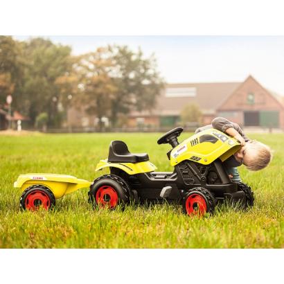 Smoby Farmer XL traktor ráülős gyermekjármű