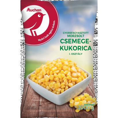Auchan Nívó Gyorsfagyasztott morzsolt kukorica 1000 g