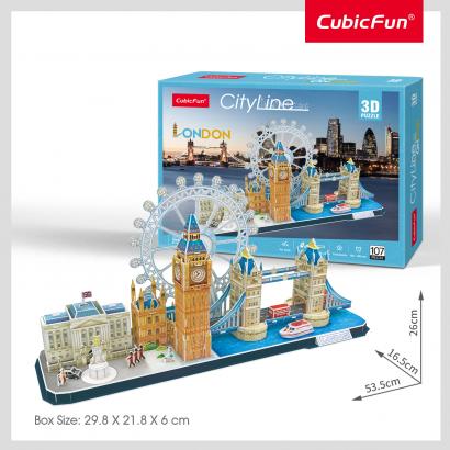 3D puzzle City Line