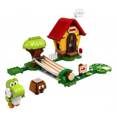 LEGO Super Mario Mario háza & Yoshi kiegészítő szett (71367)
