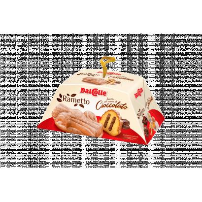 Dal Colle Rametto Cioccolato sütemény csokoládékrémmel töltve 300 g