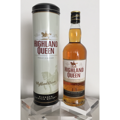 HIGHLAND QUEEN BLENDED SCOTCH WHISKY 70 CL 40% - TIN