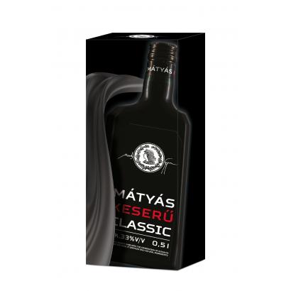 Mátyás Bitter Classic 33% 0,5L giftbox