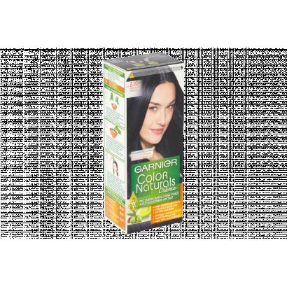 Garnier Color Naturals Creme 2.10 kékesfekete tápláló tartós hajfesték