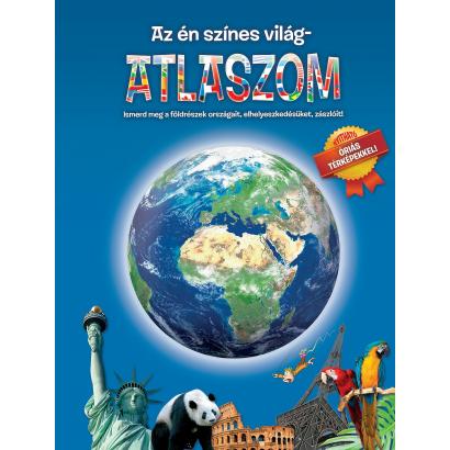 Kihajtható atlasz- Az én színes világatlaszom