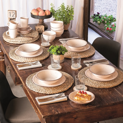 STAY LOUISE ceramic dinnerset 18 pcs