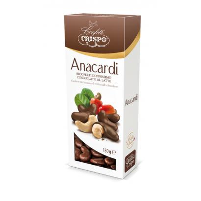 ANACARDI RICOPERTI 130 g - tejcsokoládéval bevont kesudió