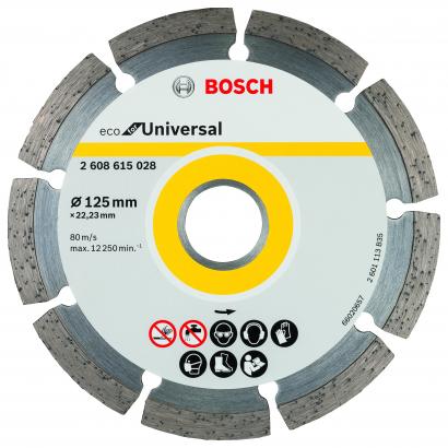 Gyémánt darabolótárcsa ECO For Universal 125