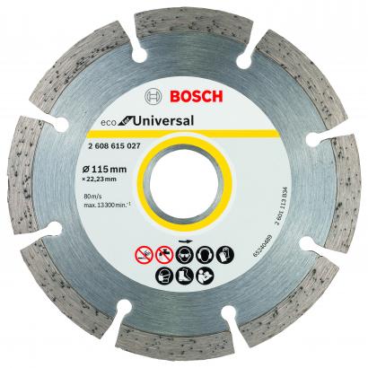 Gyémánt darabolótárcsa ECO For Universal 115