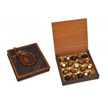 Bolci Wood & Leather box 175g