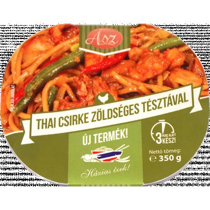 ÁSZ Thai csirke zöldséges tésztával 350 gr