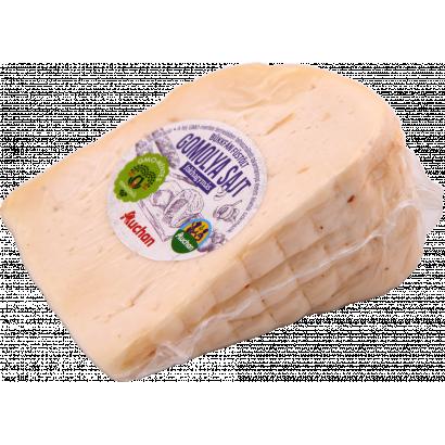 Auchan Nívó Filiére Füstölt fokhagymás gomolya sajt