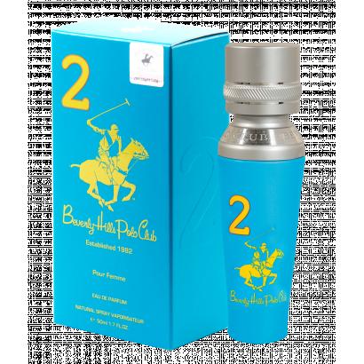 BHPC WOMEN TWO  EDP 50ML, Beverly Hills Polo Club Női parfüm EDP 50ml no.2.