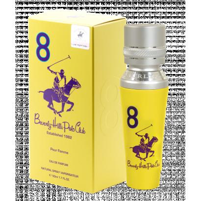 BHPC WOMEN EIGHT EDP 50ML, Beverly Hills Polo Club Női parfüm EDP 50ml no.8.