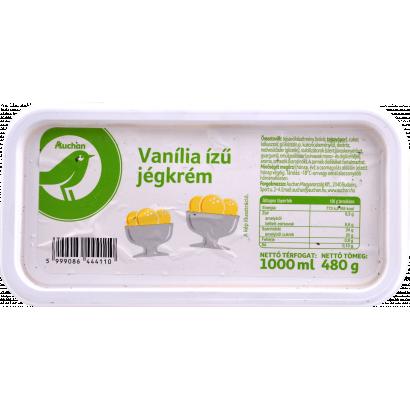 Auchan  Optimum Vanília ízű jégkrém 1000 ml