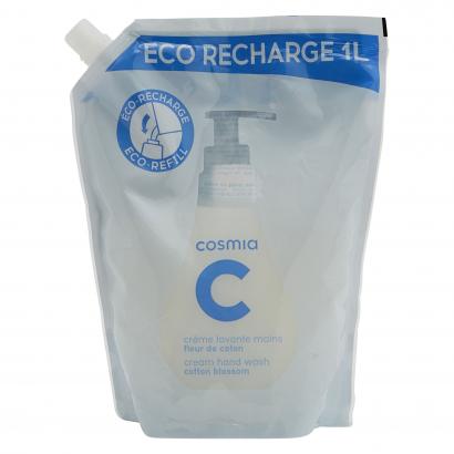 Cosmia folyékony szappan utántöltő pamutvirág 1L