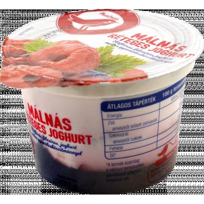 Auchan Nívó Málnás réteges joghurt 200 g