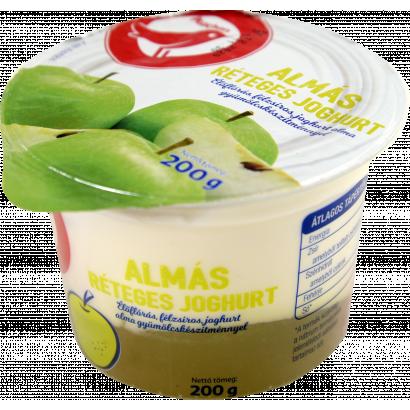 Auchan Nívó Almás réteges joghurt 200 g