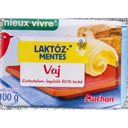 Auchan Nívó Laktózmentes vaj 80% 100 g