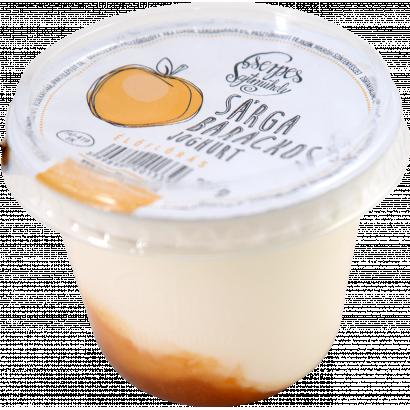 Cserpes sárga barackos joghurt élőflórás 250 g